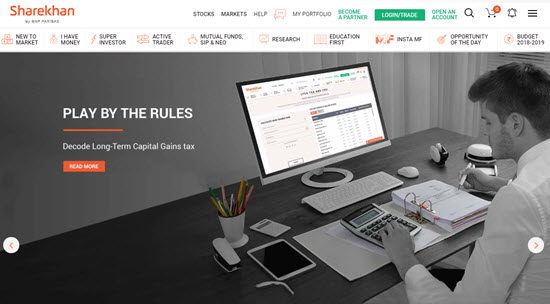 Sharekhan Demat and Trading Account in India