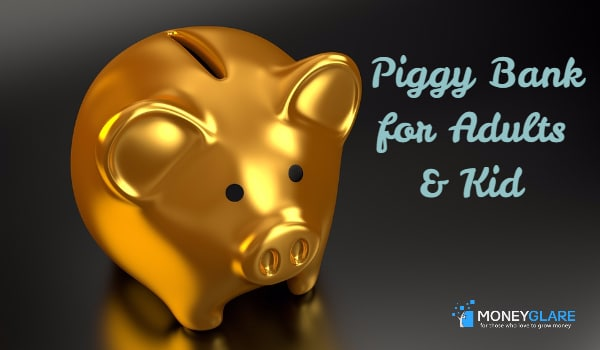 Piggy Banks for adults and kids