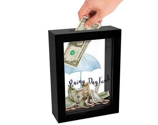 Rainy Day Piggy Bank