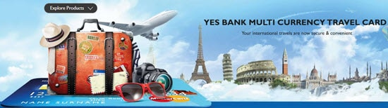 YES BANK Multi Currency Travel Card