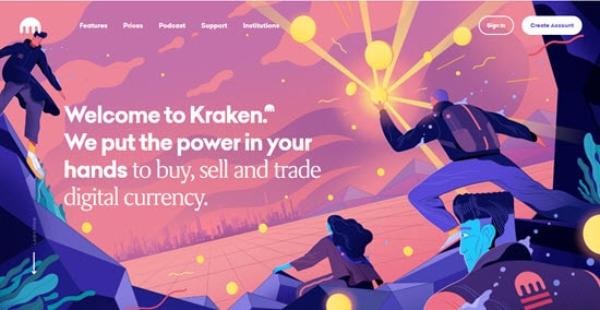 Kraken best exchange for cryptocurrency