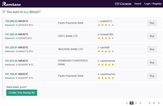 Remitano Cryptocurrency Exchange India