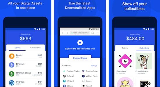 Coinbase Bitcoin Mobile Wallet