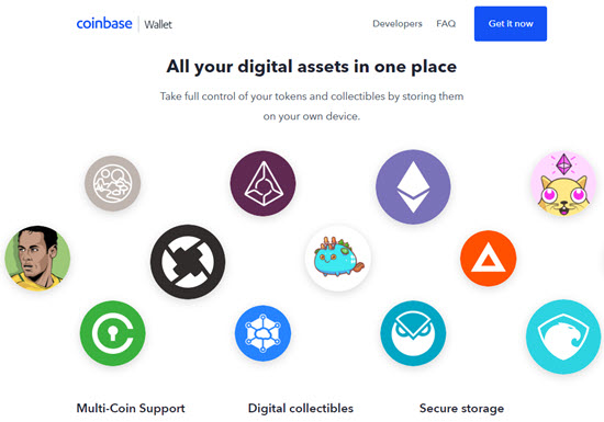 Coinbase Bitcoin Web Wallet