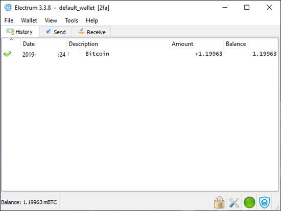 Electrum Bitcoin Desktop Wallet