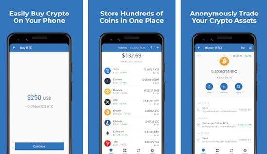 TrustWallet Bitcoin Mobile Wallet
