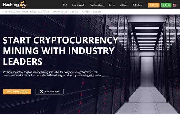 Hashing24 Bitcoin Mining Contracts