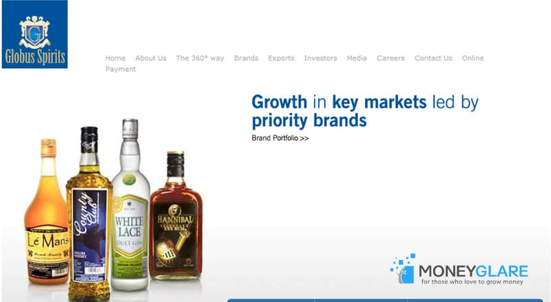 Globus Spirits alcohol brand India
