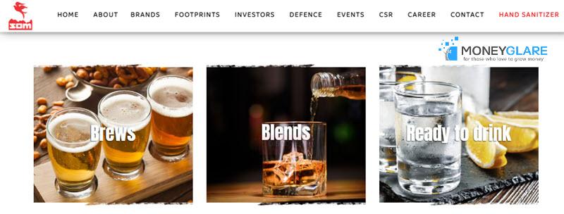 Som Distillerie Liquor Companie India